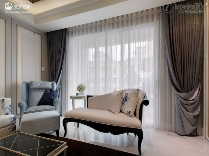 Sensationally Beautiful Drapes For Your Living Room That ... on Living Room:5J0Grrq-Soy= Curtains Design  id=40560