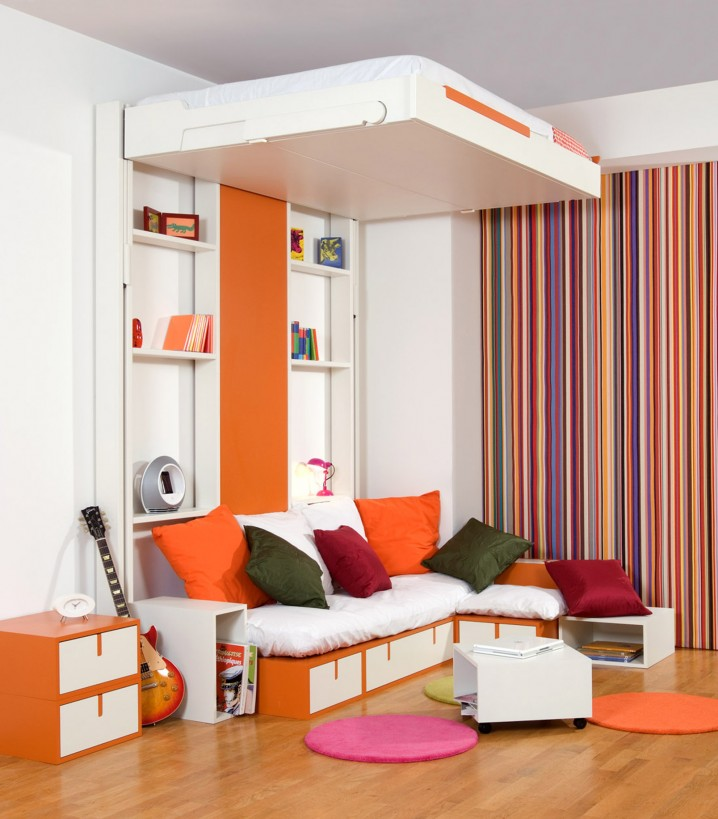 Great Space Saving Solutions For Small Teen Bedrooms on Bedroom Ideas Small Room Teenage  id=74872