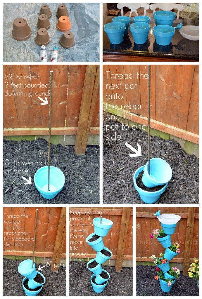 Wonderful DIY Birdbath Ideas To Attract Birds To The Yard