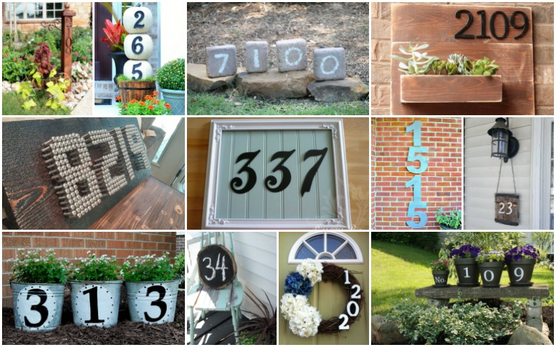 16 Unique And Cool Ways To Display The House Numbers