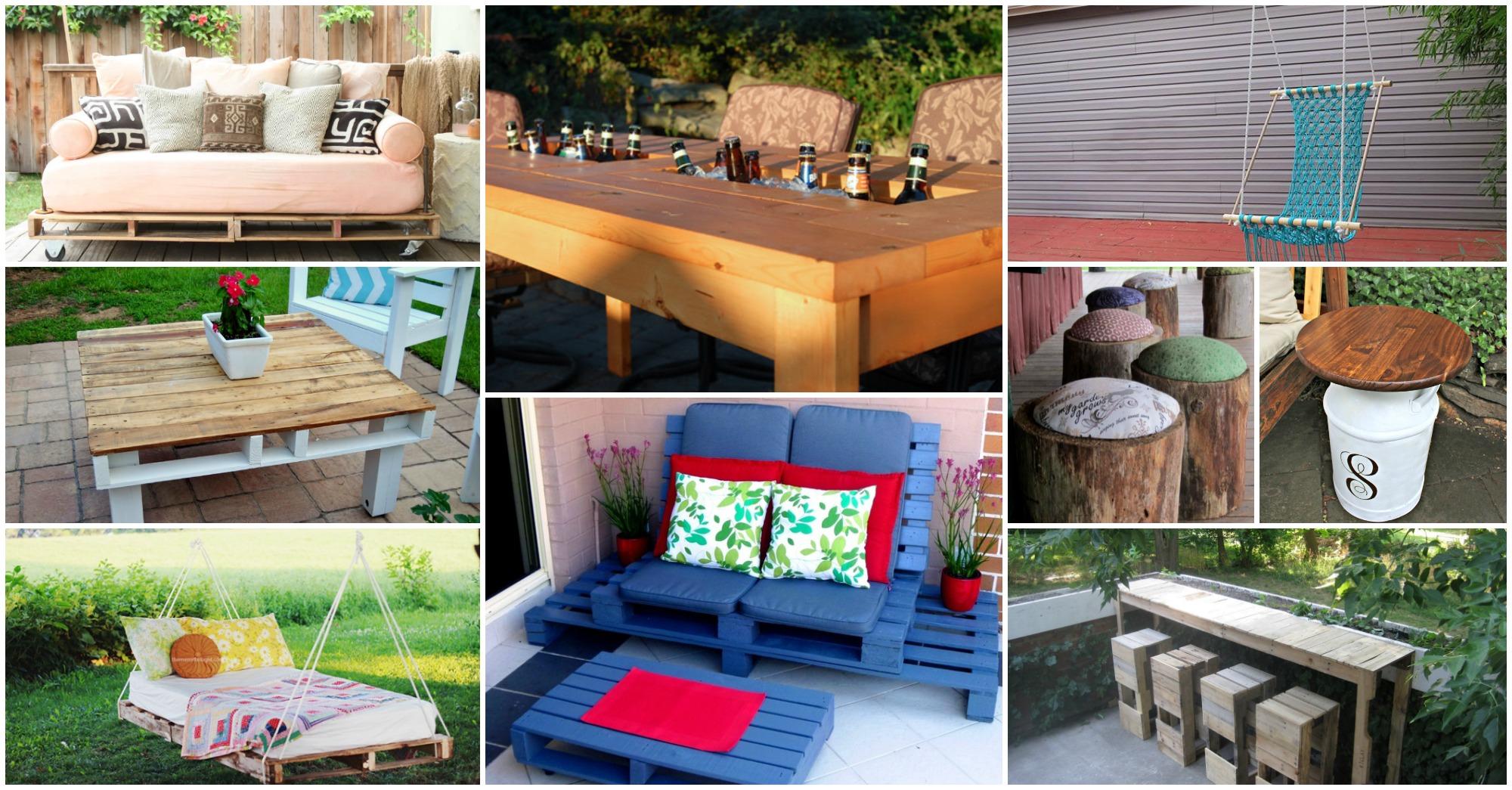 16 Budget Friendly DIY Backyard Furniture Ideas You Need ... on Budget Friendly Patio Ideas  id=45034