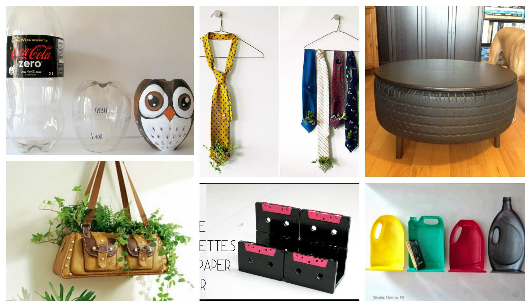 Creative Diy Projects That Recycle Old Items Into New