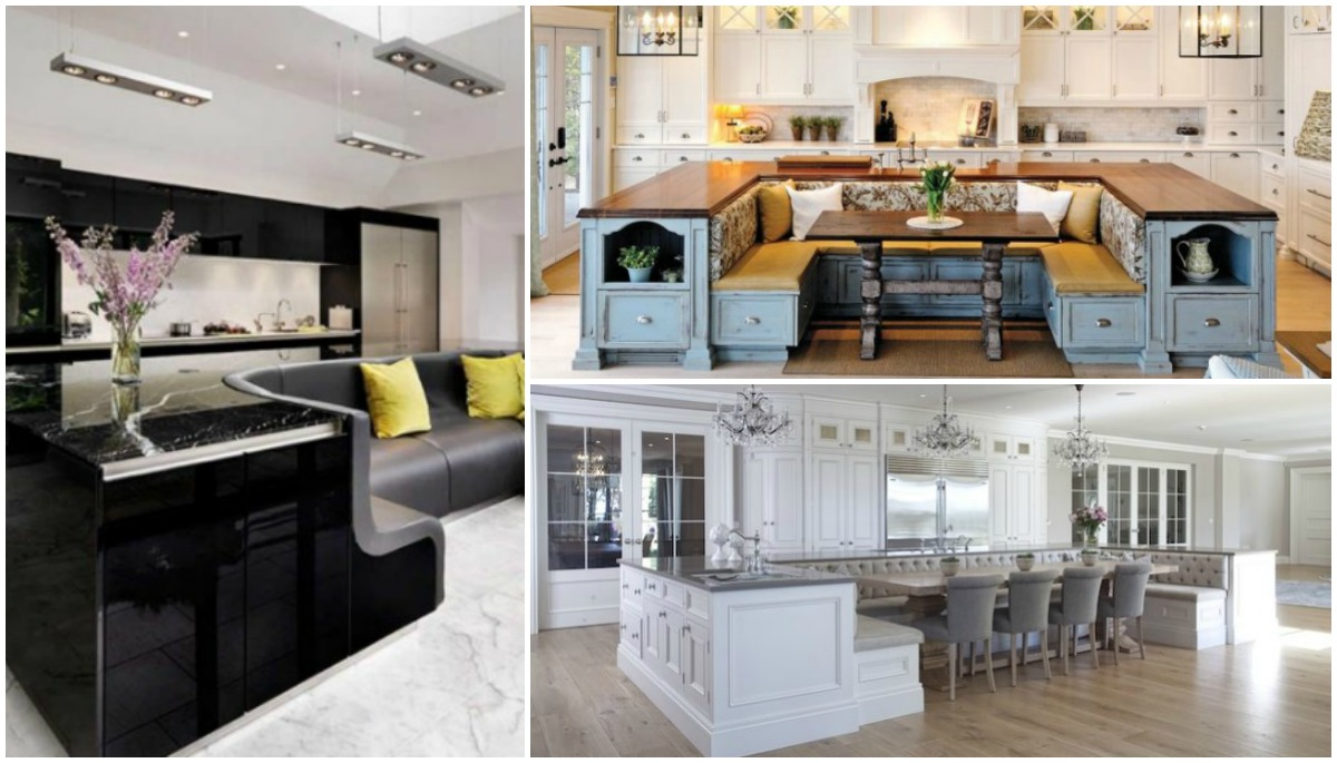 Functional Kitchen Islands With Built In Seating You Need