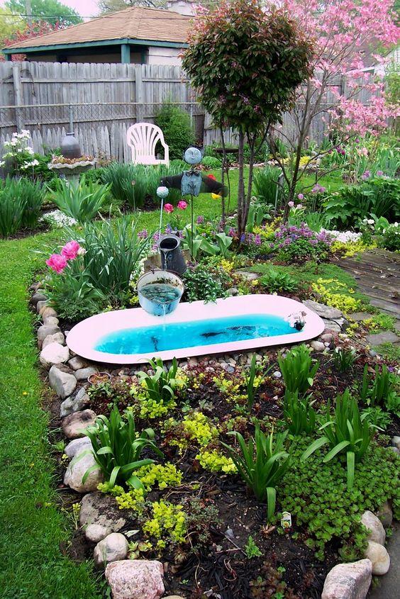 How Make Pond Your Garden
