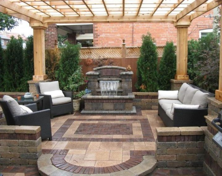 19 Brick Landscaping Ideas You Should Not Miss on Small Backyard Brick Patio Ideas id=33523