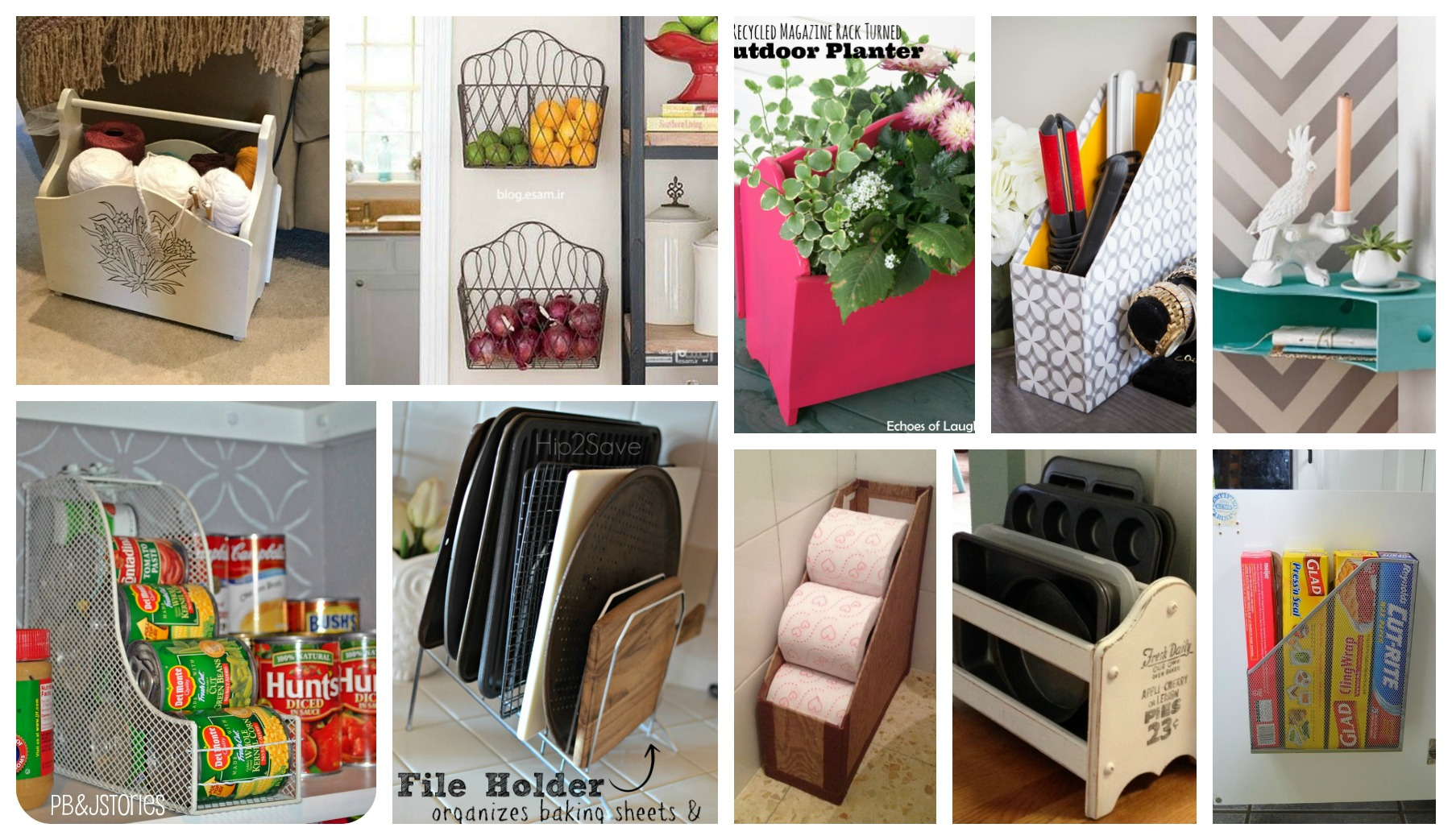 The Best Functional Ways To Repurpose The Old Magazine Rack