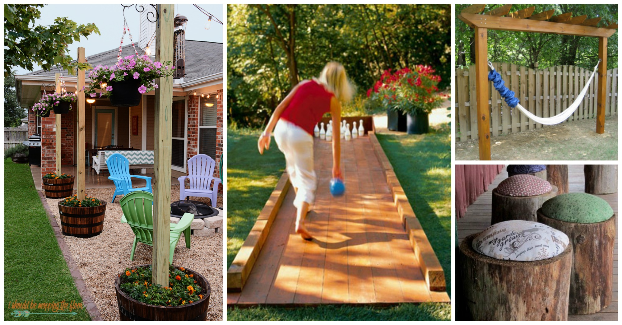 10 Fantastic DIY Wooden Projects For Your Yard You Should ... on Wooded Backyard Ideas id=32300