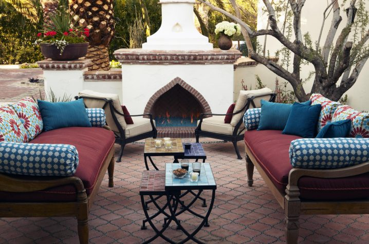 16 Marvelous Moroccan Patios That Will Fascinate You on Moroccan Backyard Design id=39780