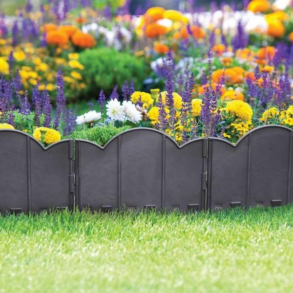Splendid DIY Garden Bed Edging That Will Catch Your Eye