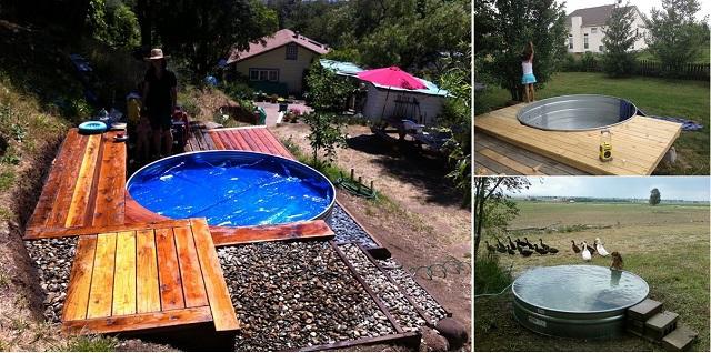 Bajo Presupuesto piscinas de bricolaje que le encantará Hacer