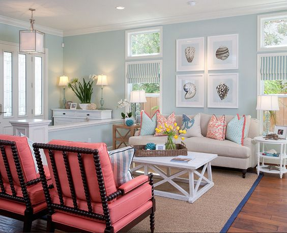 15 Of The Best Coastal Living Rooms You Have Ever Seen on Best Sconces For Living Rooms Near Me id=66726