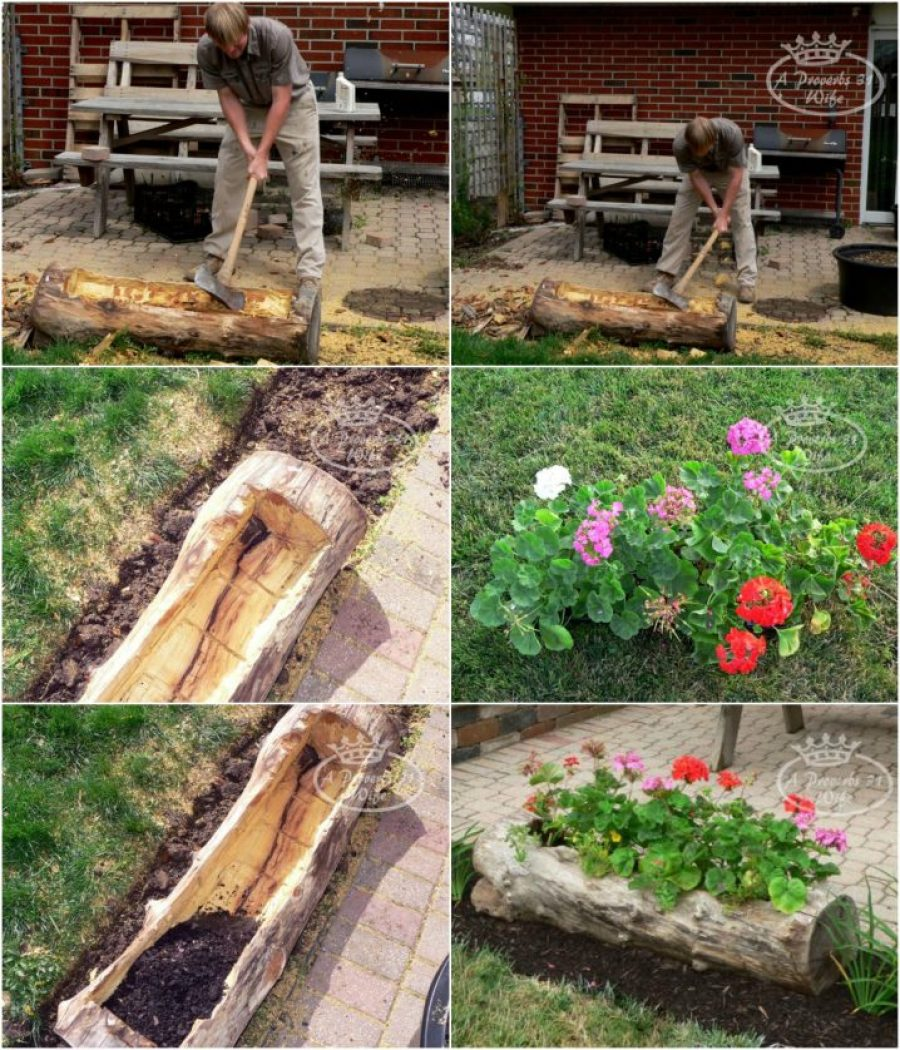 Riciclo creativo 9 idee per decorare il giardino - Sistemare un giardino ...