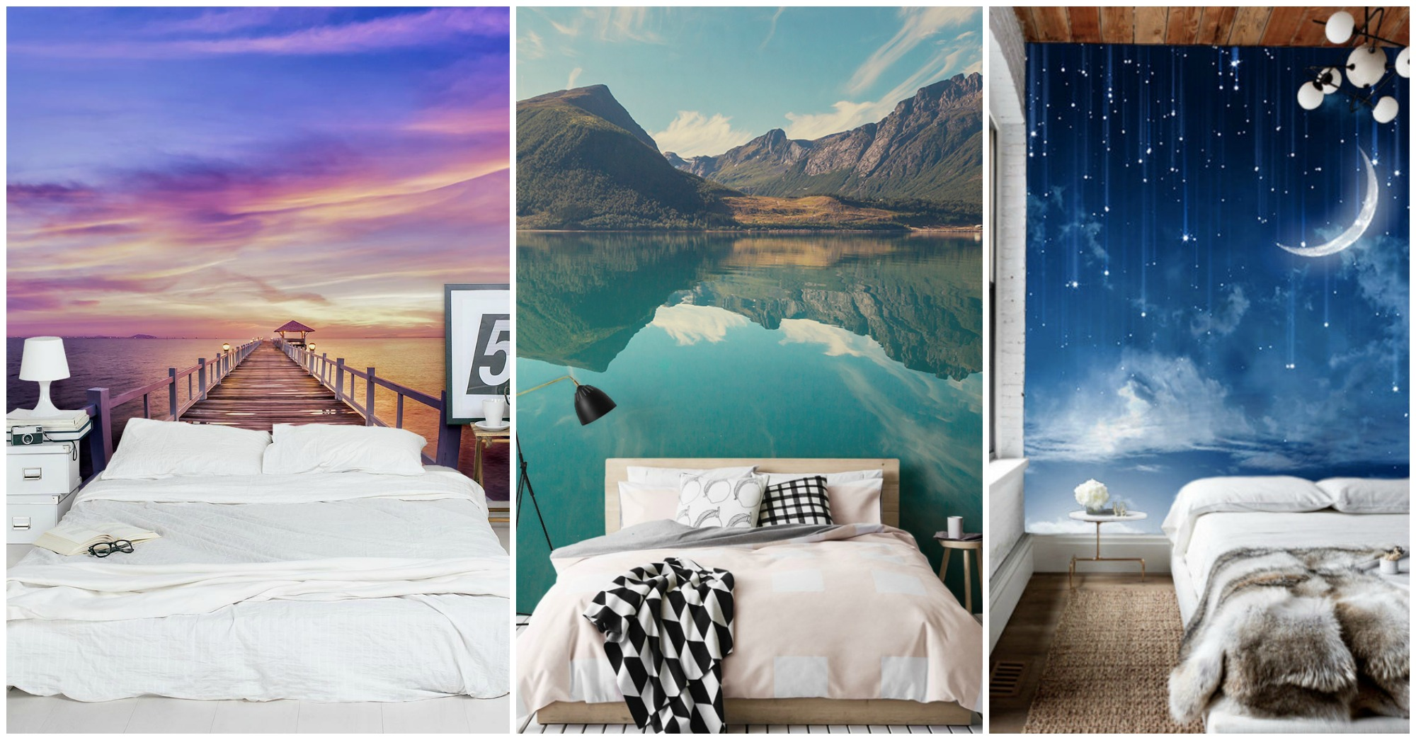 10 Astonishing Wall Murals That Will Make Your Bedroom More Relaxing
