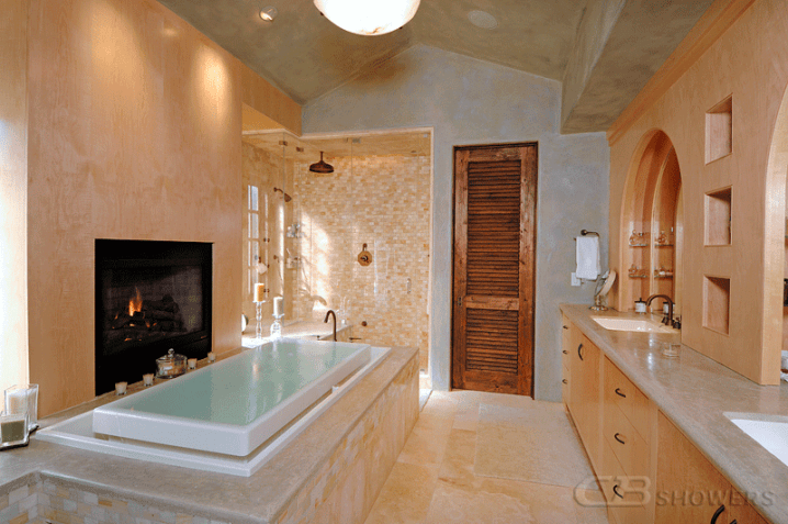Marvelous Infinity Bathtubs For A Luxury Look Of The Bathroom