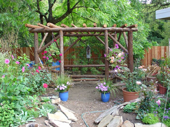 Wonderful Rustic Landscape Designs Only For Your Eyes on Country Patio Ideas id=53495