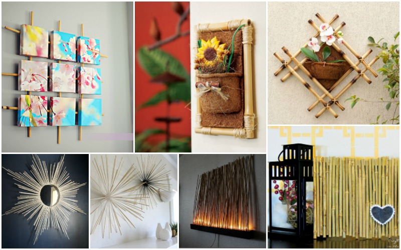 10 Diy Bamboo Wall Decorations You Can Easily Make