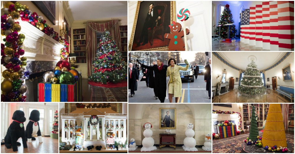 How Michelle Obama Decorated For Her Final Christmas At