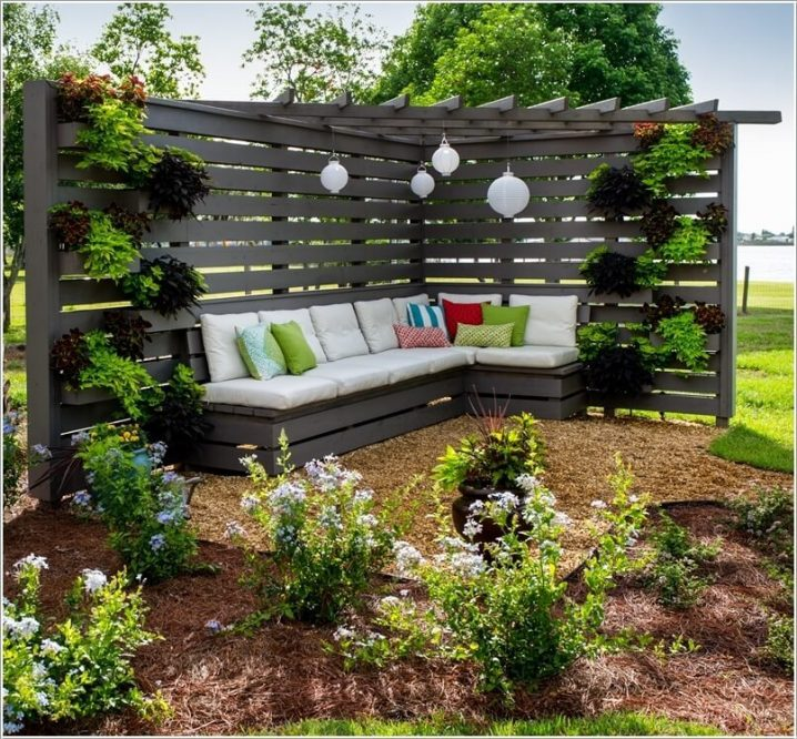 Corner Seating Areas Perfect For Small And Spacious Gardens on Back Garden Seating Area Ideas  id=17546