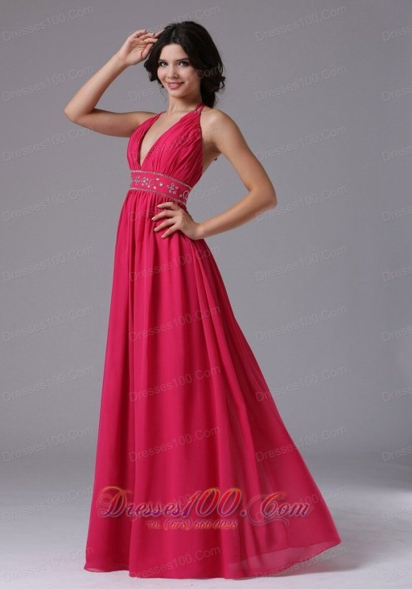 Discount Coral Red Halter For 2013 Prom Dress In Brentwood ...