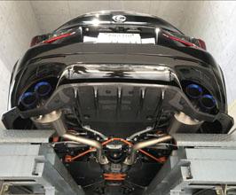 lexon l exhaust quad exhaust system full titanium for lexus rcf 2015 2018
