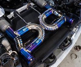 boden autohaus exhaust system titanium for mclaren 720s