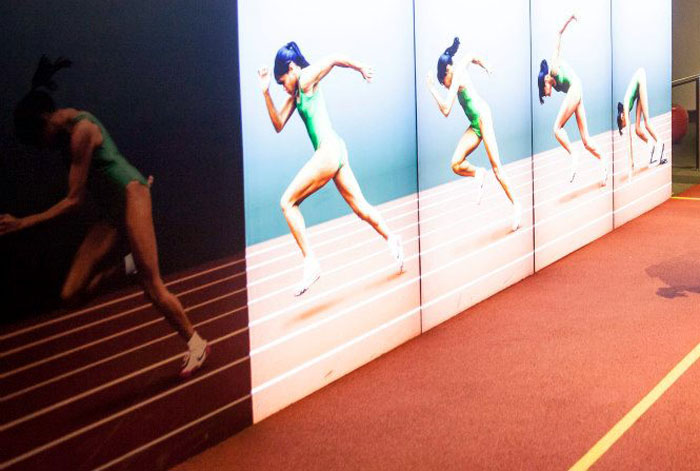 cathy freeman sportsworks at scienceworks