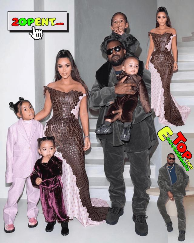 West Kardashian Christmas Eve 2019