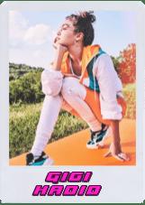 Gigi Hadid Polaroid Top Entretenimiento