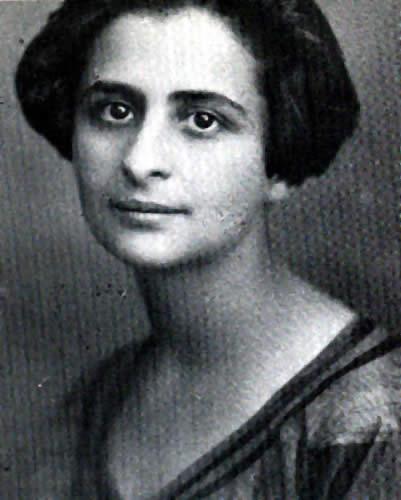 1922. Η Ραχήλ Λίπσταϊν-Μινκ