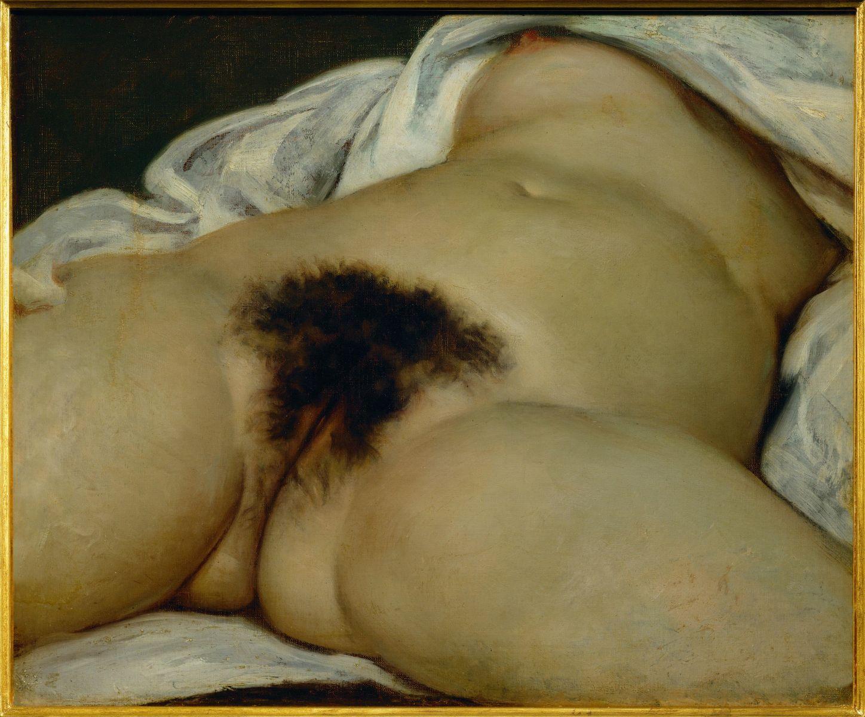 """""""Η προέλευση του κόσμου"""" του Gustave Courbet"""