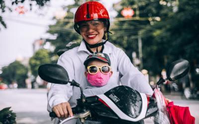 sécurité enfant moto