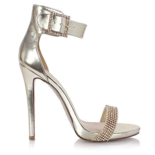 Sole Affair LOUD Ladies Womens Stiletto High Heel Ankle ...