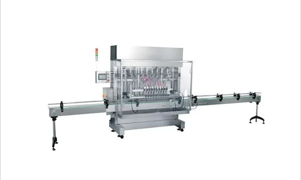 Automatic 4 heads Detergent Filling Machine