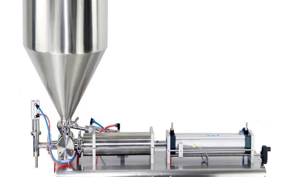 Semi-automatic Piston Jar Cream Filling Machine