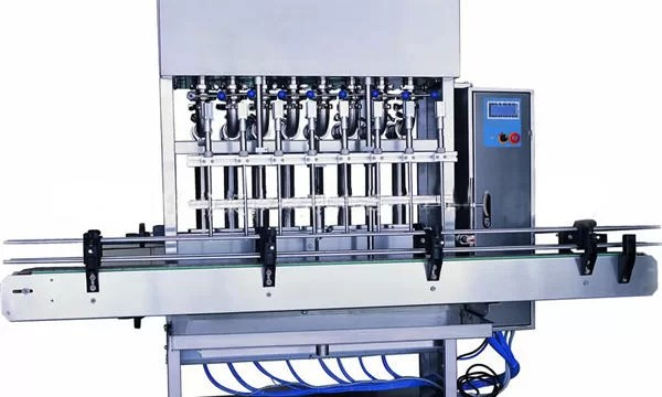 Stainless Steel Liquid Soap Filling Machine