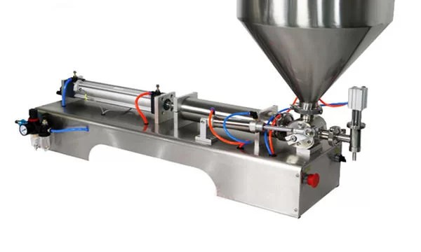 Small Volume of 3-25ML Soybean Paste Filling Machine