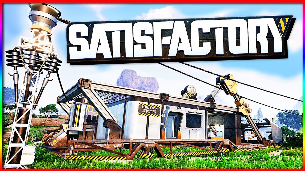 Satisfactory – AMAZING New Open World Building Game! Mining