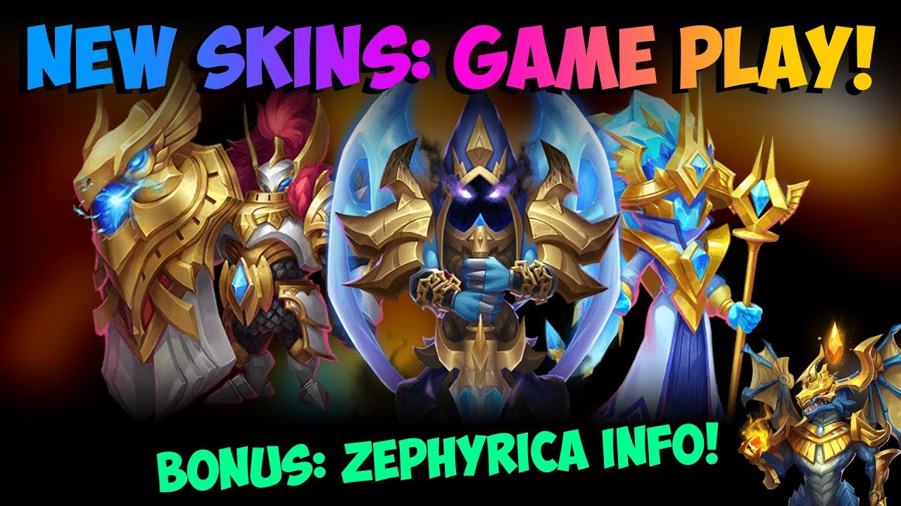 New Update Talk + New Skins and Game Play Castle Clash – Top Game Plays