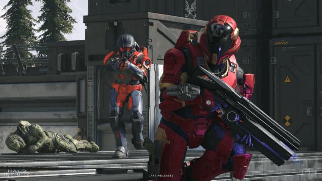 Invitación de la versión beta de la versión preliminar técnica de Halo Infinite al rendimiento del juego