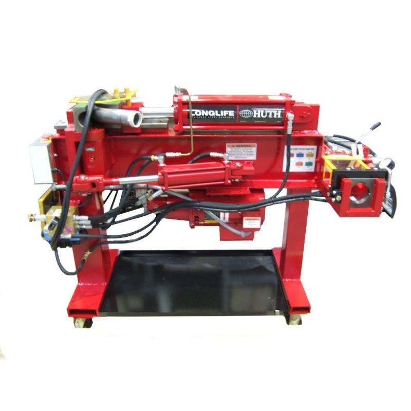 huth ss 10 stainless exhaust pipe tube bending machine
