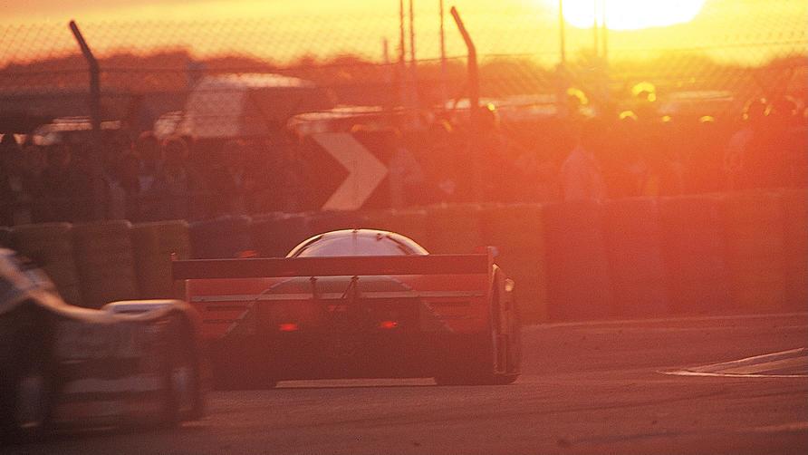Mazda 787B at Le Mans