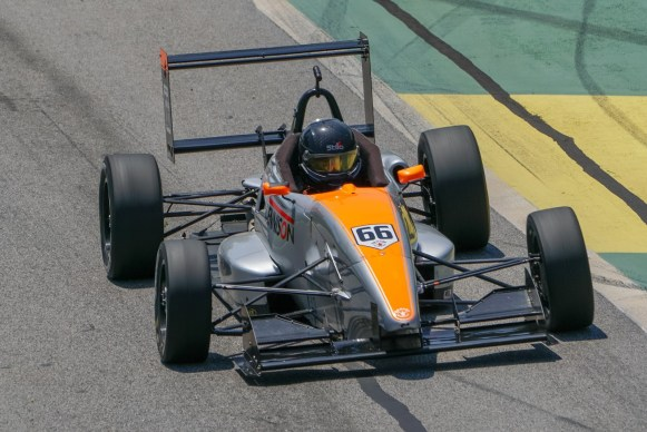Repro Free images: James Roe Junior from Sallins, Co Kildare Competing at the Virginia International Raceway (VIR) during rounds 5 and 6 of the Formula 2000 Pro Championship series, finished a dominant performance throughout the day with a victory in Race 2 – James has been selected as the Young Racing Driver of the Month for April Image credit Joshua Wilburn Motor Club Media