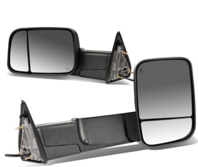 Dodge Ram  Power Heated Towing Mirrors