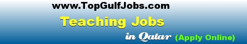 Teaching Jobs in Qatar