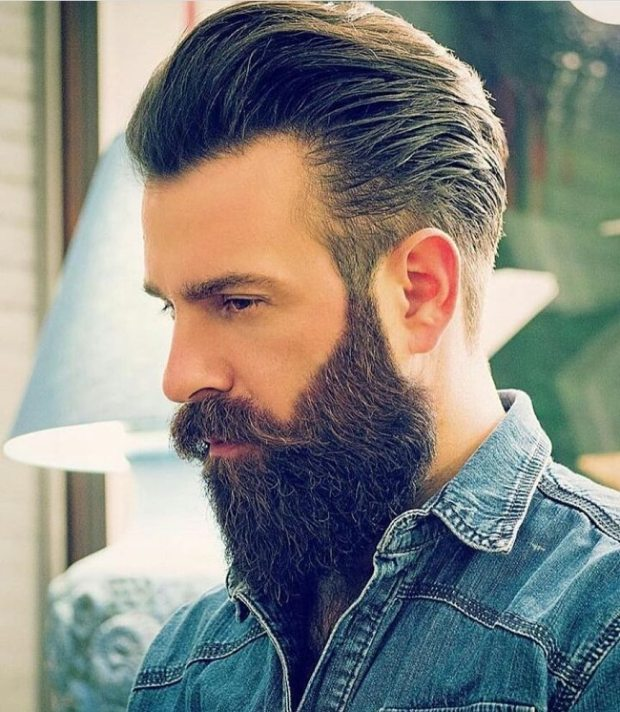 Beard Cool Hairstyle For Men 2018