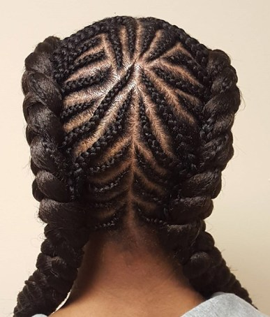 Braid Hairstyles For Black Women 24