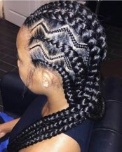 Braid Hairstyles For Black Women 9