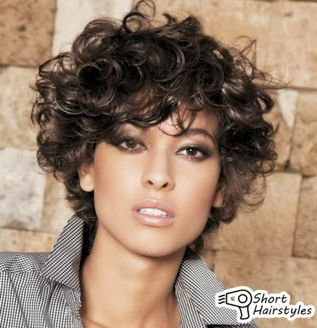 Curly Hairstyles for Short Hair - Haircuts + Hairstyles 2018