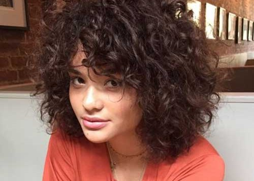 Curly Hairstyles For Short Hair 7