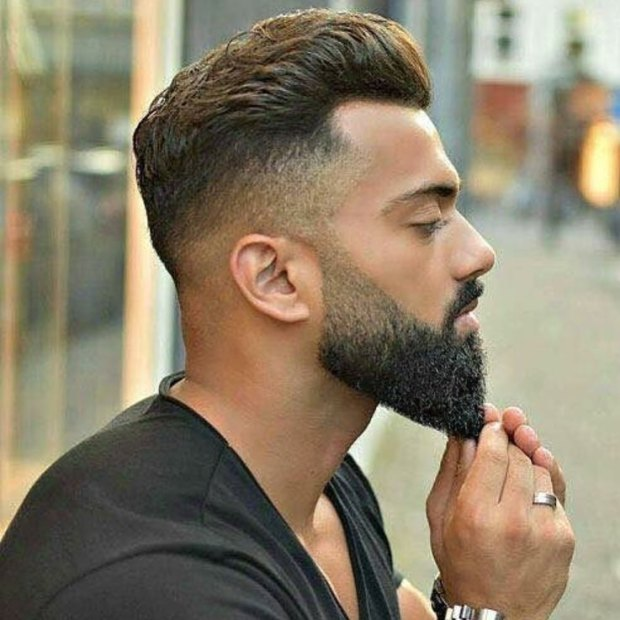 High Fade Popular Hairstyle For Men